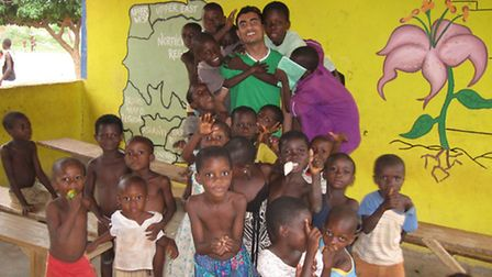 Khaled Hassan is travelling to Gambia at the end of this month to help provide food, bedding, clothe