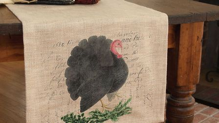 Talk turkey with this festive table runner