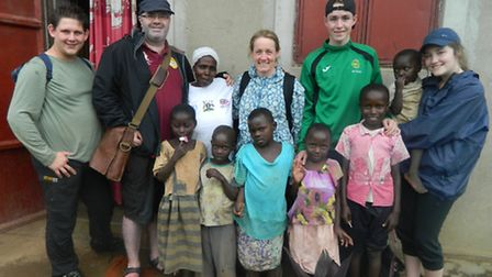 Pupils from Nicholas Breakspear Catholic School went to Uganda in connection with charity Kiddies Su