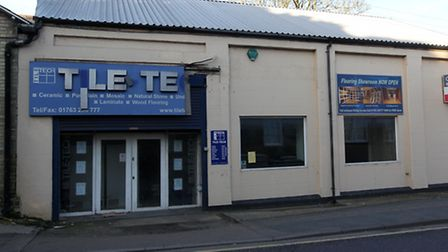 An application has been put forward to change the old 'Tile Tech Walls and Floors shop', Mitre Works