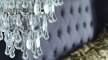 The Anita Dual Droplet Ceiling Fitting, £59.99, available from Dunelm.com. (photo: PA Photo/Handout)