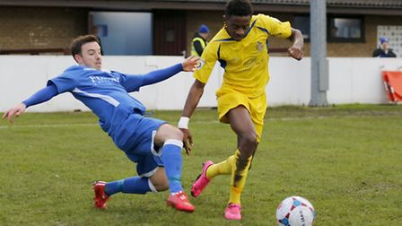 Kevin Krans made an impact from the bench as City beat Oxhey. Picture: LEIGH PAGE