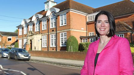 The new headmistress of St Albans High School for Girls Jenny Brown