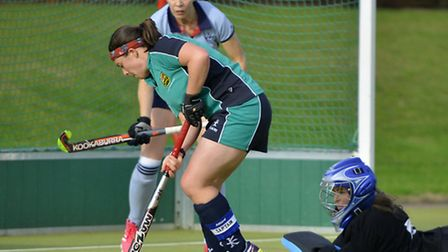 Helen Clarke scored for St Ives Ladies as they failed to win for the first time this season.