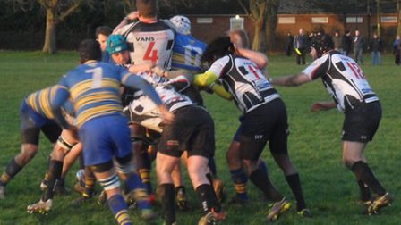 Harpenden lost to a late try at Enfield