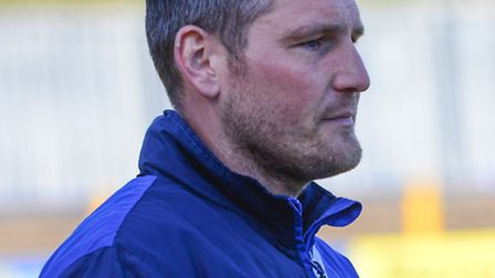 St Albans City joint-manager Jimmy Gray. Picture: BOB WALKLEY