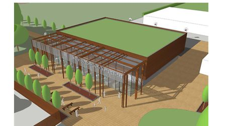Plans for a new community arts centre on the Meridian Upper School site in Royston have been unveile