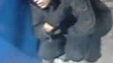 The person British Transport Police would like to speak to in connection with a theft from a vending