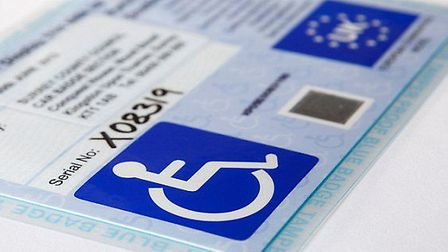 The cost of a Blue badge for disabled drivers could go up by 33p a year in Cambridgeshire