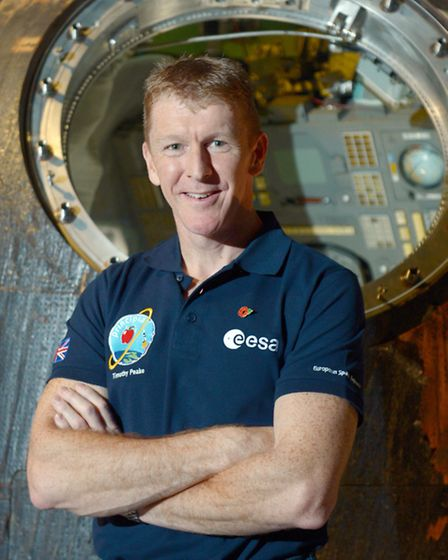 File photo dated 06/11/15 of British astronaut Major Tim Peake, as his launch into orbit next month