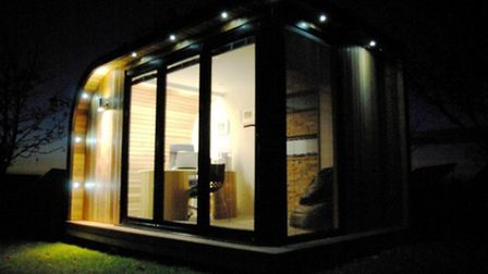 Work into the night without disturbing the rest of the household with an outside office