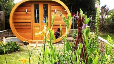 A 'Pod' constructed by Contemporary Garden Rooms, Shropshire