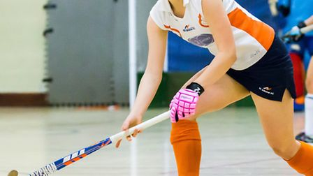 Maddie Davies in action for St Albans at the Super Sixes in Nottingham. Picture: CHRIS HOBSON