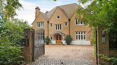 There's an array of stunning properties in the area