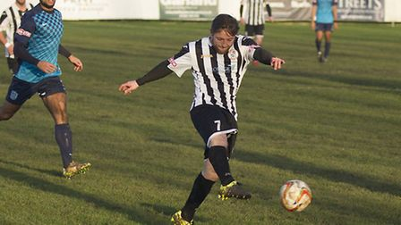 Ben Seymour-Shove hit a hat-trick for St Ives last Saturday. Picture: LOUISE THOMPSON