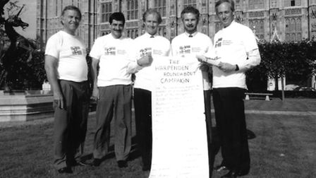 Brian Turberville, Steve Gledhill, Peter Lilley, Robert Hill, Tony Goodeve at the House of Commons