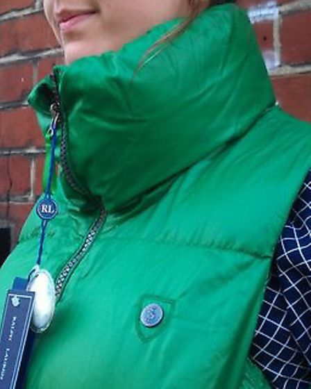 Have you seen this gilet? It was stolen on Sunday (17)