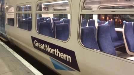 Services on the Great Northern line have been delayed due to a broken down train at Meldreth.