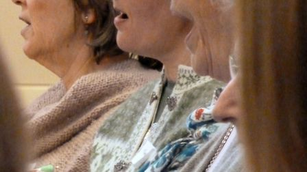 Members of Harpenden Choral Society