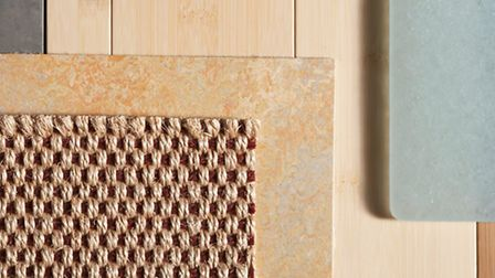 A selection of natural floor coverings