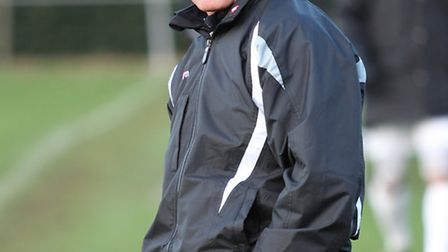 Harry Wheeler is deighted to be working with his former manager at Potters Bar, Adam Lee. Picture: D