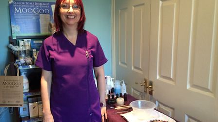 Tessa has had her beautician business for 10 years.
