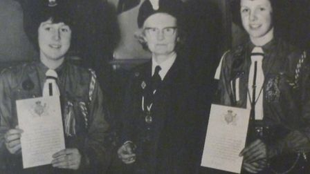 A new exhibition at Royston Museum showcases the role of girl guides in the town.