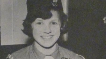 A new exhibition at Royston Museum showcases the role of girl guides in the town. Linda Tullet was a