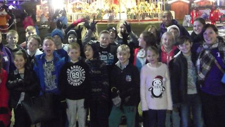 Children from Royston youth club Burns Road Hangout were treated to an extra special day out just be