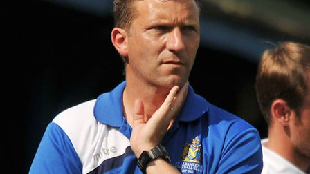 St Albans City reserves manager Mark Swales has left the club. Picture: DANNY LOO