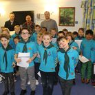 Beaver Scouts from 3rd St Albans Thor Colony supported their local community by entertaining residen