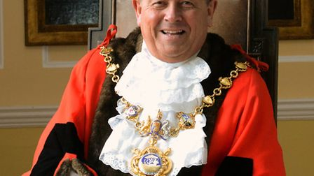 Councillor Bil Hensley, the current mayor of Huntingdon.
