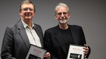 BAFTA award winning director Mike Newell, of St Albans, with Walter Murch, have been immortalised on