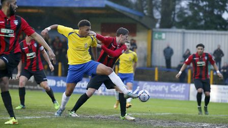 Jonathan Edwards will stay with St Albans City for the rest of the season. Picture: LEIGH PAGE