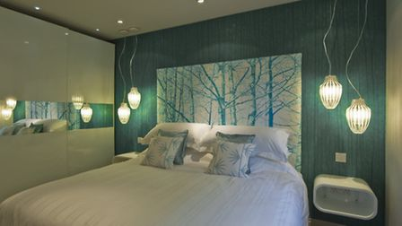 That spare room could be tranformed into a swish guest bedroom