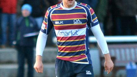 Max Malins made his first start for Saracens Storm on Monday. Picture: KEVIN LINES