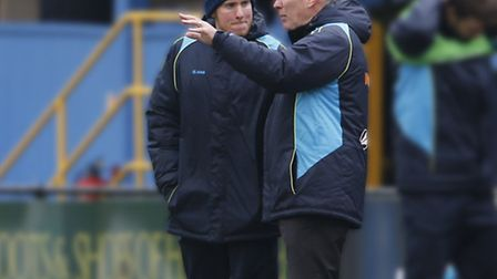 Ian Allinson takes charge of the Saints. Picture: LEIGH PAGE