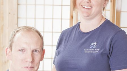 Cambridgeshire Family Chiropractic Centre will offer complimentary posture checks and a short works