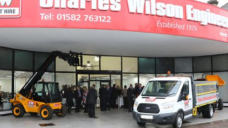 CW Plant Hire in Harpenden has recently undergone expansion.