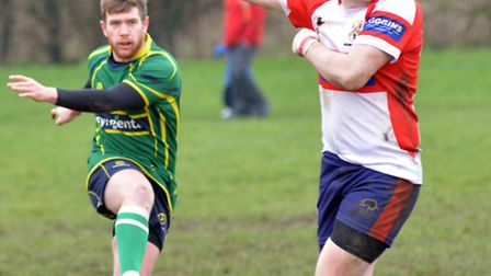 Dan Malem plays his final match for Huntingdon today before moving to New Zealand. Picture: HELEN DR