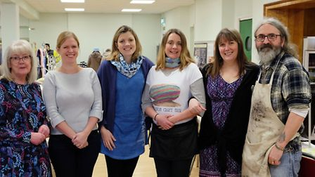Crafters at Royston Craft Fair