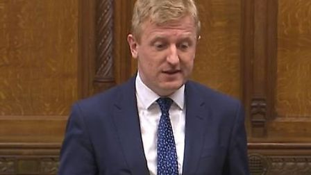 Oliver Dowden speaking in the House of Commons