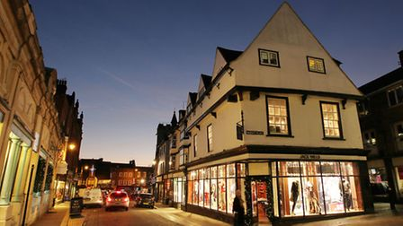 St Albans high street - with its array of estate agencies