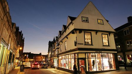 St Albans offers a variety of stores in a historic setting