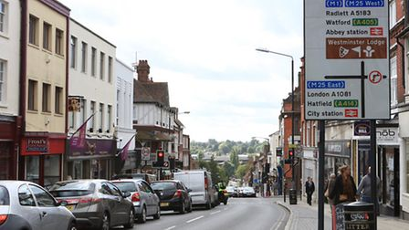 St Albans Town Centre, St Peters Street