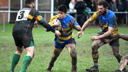 St Albans pushed league leaders London Nigerian all the way. Picture: KEVIN LINES