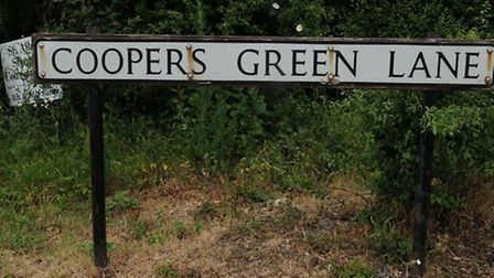 Coopers Green Lane, St Albans.