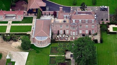 Who could forget the infamous Beckingham Palace - home to Victoria, David and the kids.
