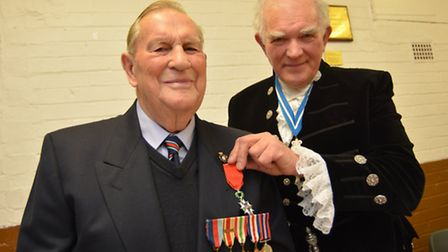 Victor Steward of Warboys has been awarded the rank of Chevalier (Knight) of the Legion of Honour by