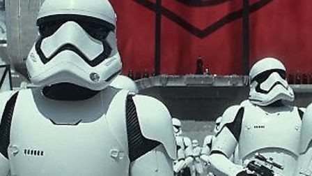 Stormtroopers in Star Wars: The Force Awakens